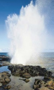 Spouting Horn-Kauai-Poipu