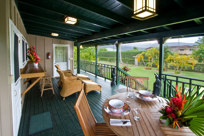 Beautiful HANALEI KAUAI VACATION RENTAL Umetsu is quite possibly one of the most idyllic cottages in Hanalei This one bedroom one bath remodeled plantation style Plan - 10 bedroom vacation rentals Contemporary