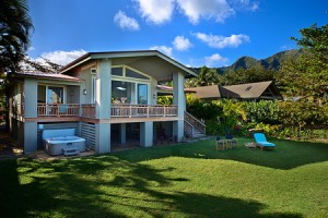 Banana Beach House, Haena, Kauai