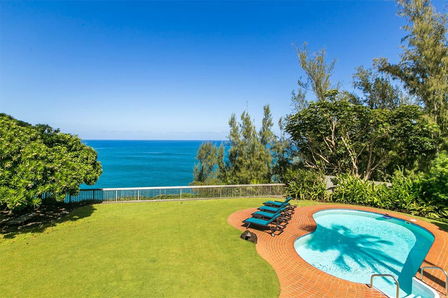 PRINCEVILLE VACATION RENTAL: Hale Makana Is A Spacious Ocean Bluff Kauai Vacation  Rental Perched Right Above The Pacific On Kauaiu0027s Famed North Shore.