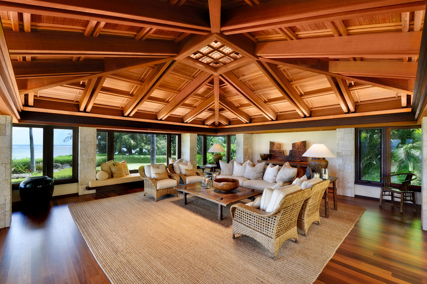 Anini beach jean and abbott properties for Luxury homes in hawaii for sale