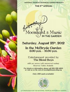 Kauai Event: Moonlight and Music at McBryde Garden