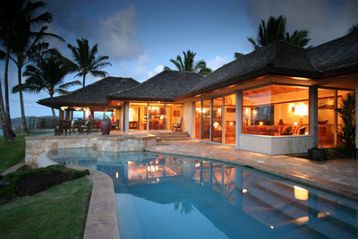 Anini Beach Kauai Vacation Al With 180 Degree Panoramic Ocean Views This 4 Bedroom 5 Bath Spectacular Home Is Almost Indescribable