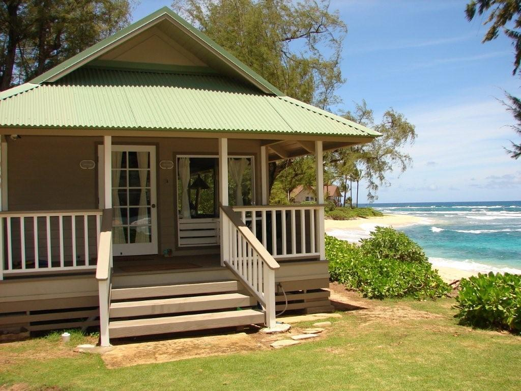 Haena Kauai Vacation Al Love Shack Is A True Beach Front Retreat Renovated And Remodeled The Decorated With Stylish
