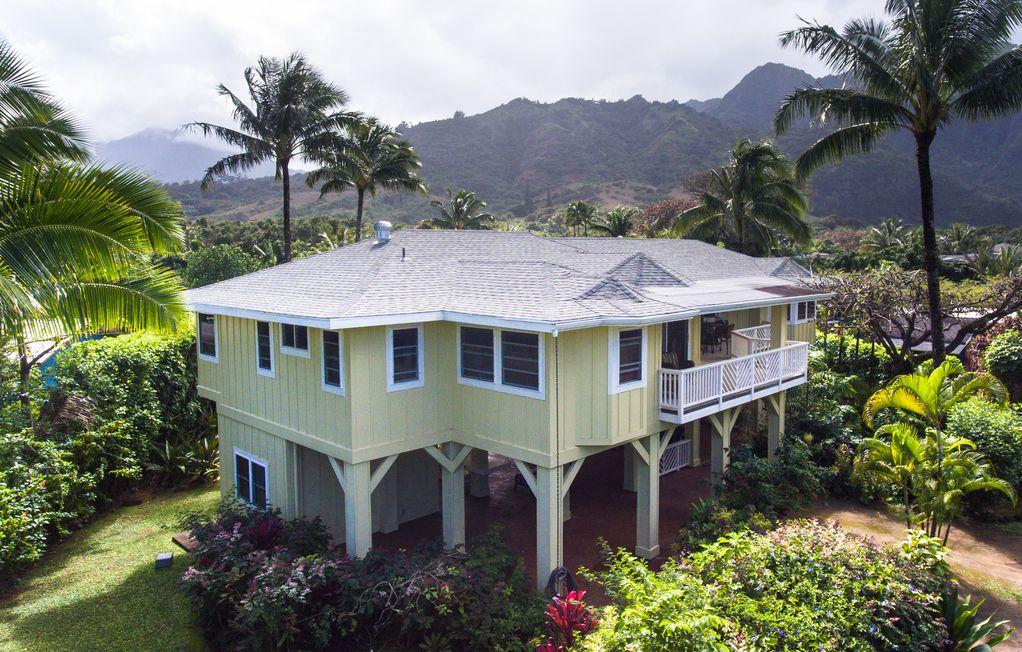 Haena Kauai Vacation Rental Hale O Pulelehua Is A Cl Ic Plantation Style  Bathroom Home With Option To Rent An Additional  Bath
