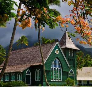 Hanalei Church, Kauai