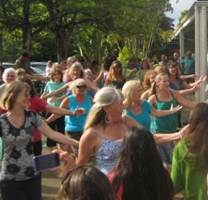 Princeville Foodland Flash Mob