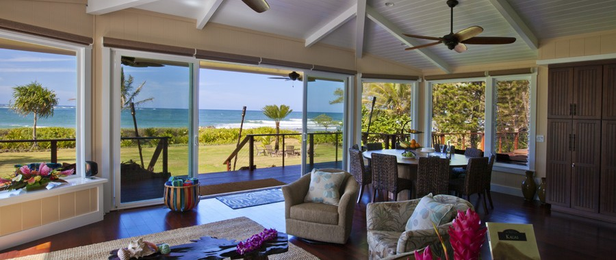 Ginger Beach House Anahola Jean And Abbott Properties