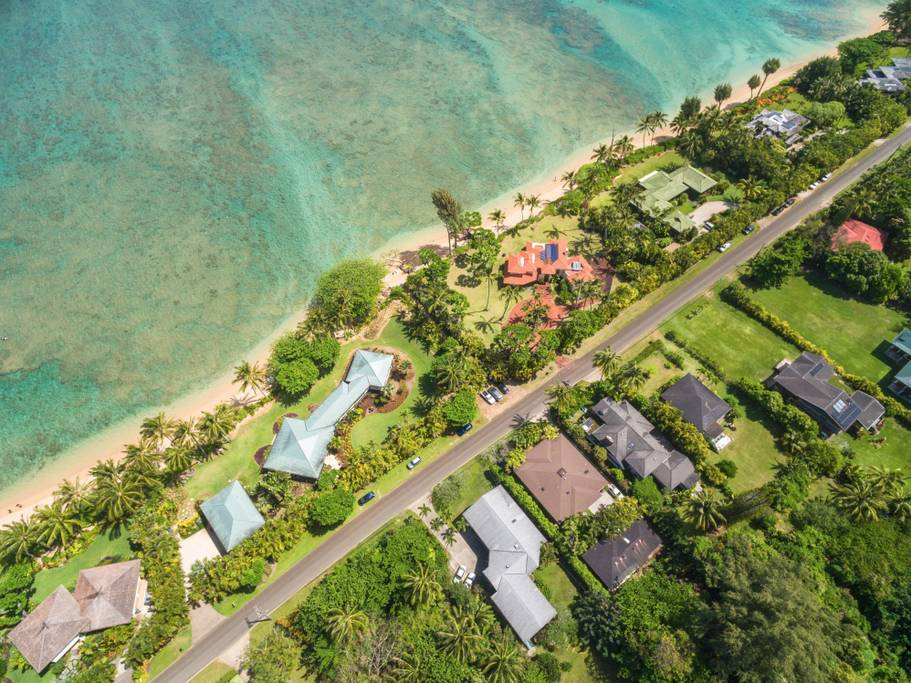 Anini Beach Kauai Vacation Al The Pohaku Estate Is Located Just Across Street From Incredible 1 Min Walk Max And You Are